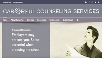 Careerful Counseling Services Website